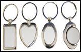 Keyring - Metal w/ Gift Box and Plate