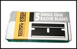 Razor Blade Single Edged (x5) P/No: 30-101